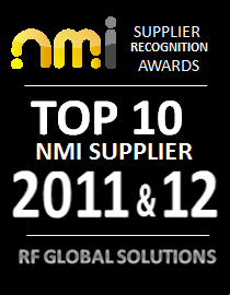 NMI Top 10 Supplier Award For The Second Year Running - RF